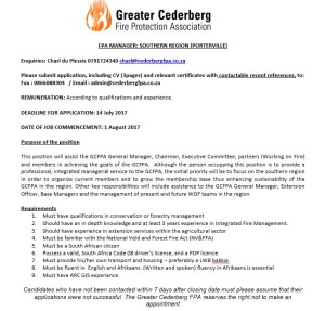 GCFPA Manager Advertensie_28 Junie 2017